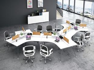 沈阳板式职员桌